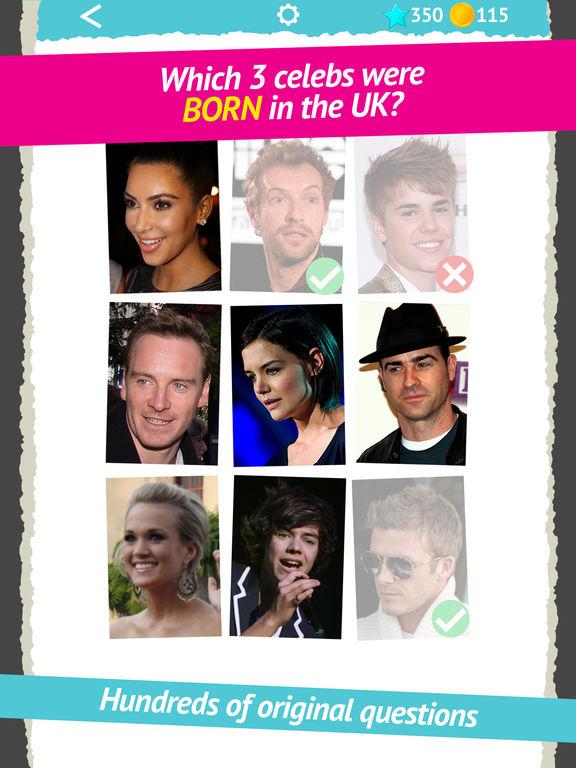 celebrity gems show  quiz   daily superstar trivia and