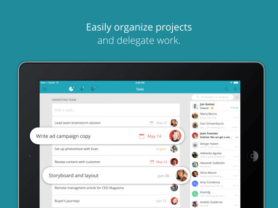 Redbooth: Project Management & Tasks for Teams screenshot