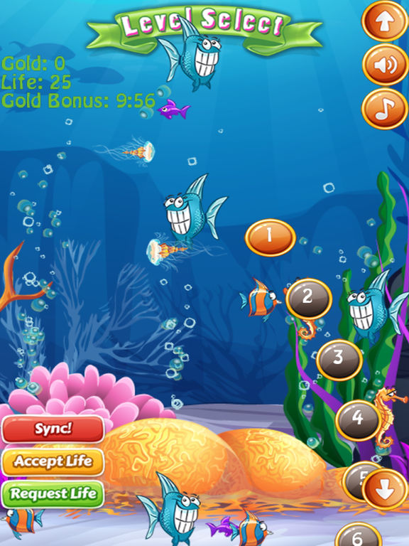 App shopper fish frenzy match games for Fish frenzy game