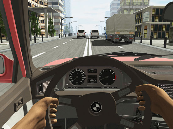 Screenshots of Racing in Car for iPad