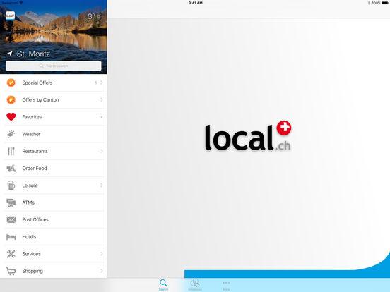 Swiss Phone Book iPad Screenshot 1