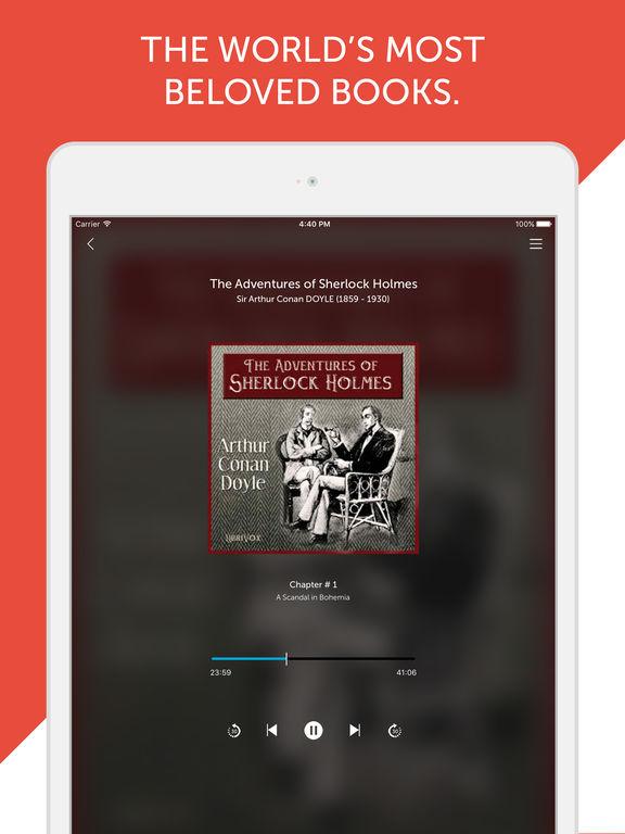 Audiobooks from Librivox - FREE 10,000+ Audio Books mp3 Скриншоты7