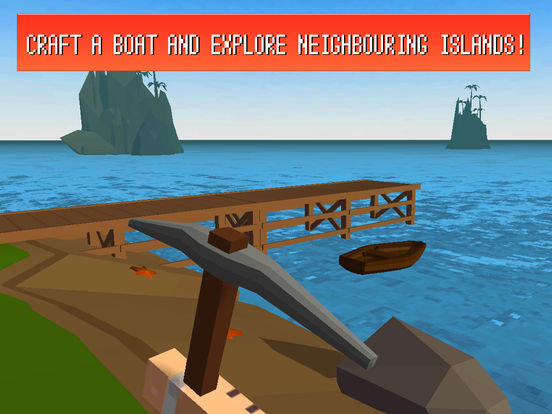 Craft Island Survival Simulator 3D Full Screenshots
