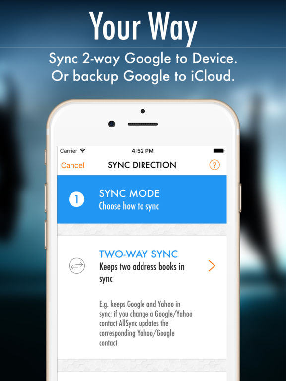 AllSync 2 - Rich Contacts Everywhere Screenshots