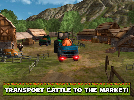 Farm Animal Transporter Simulator 3D Full screenshot 6