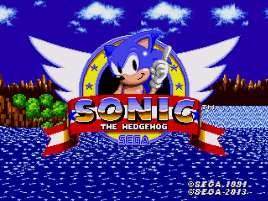 Sonic the Hedgehog iPad Screenshot 1