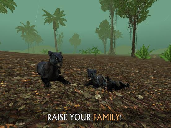 Wild Panther Sim 3D: Rainforest RPG Adventuresscreeshot 4
