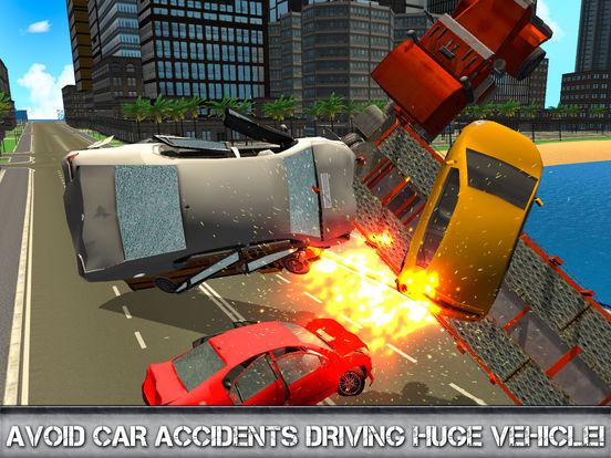 Car Transporter Driving Simulator 3D Full screenshot 8