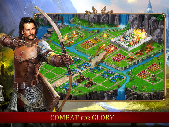 Age of Medieval Empire : Castle Under Siege & Global War screenshot