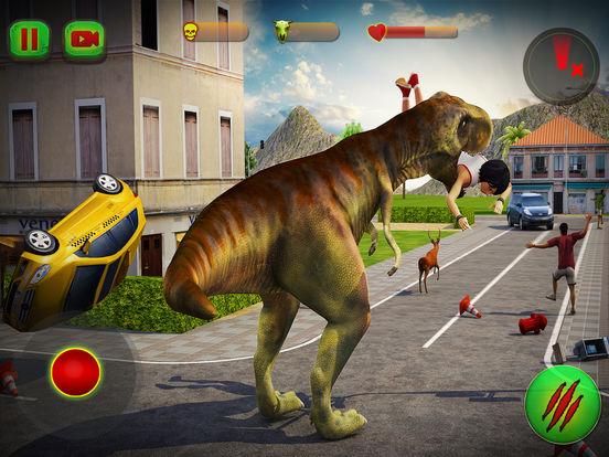 Скачать Dino City Rampage 3D
