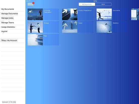 Aussendienst iPad Screenshot 2