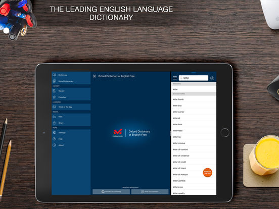 Oxford Dictionary of English plus Audio Screenshots