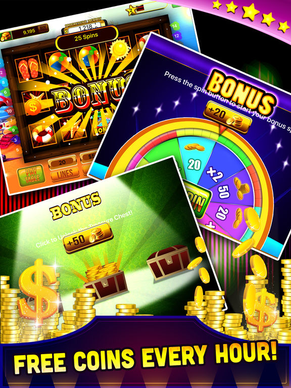 Free Las Vegas Casino Slots Machine Games - Spin for WIN Jackpot-ipad-3