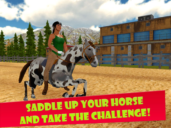 Horse Riding 3D: Show Jumping Full Screenshots