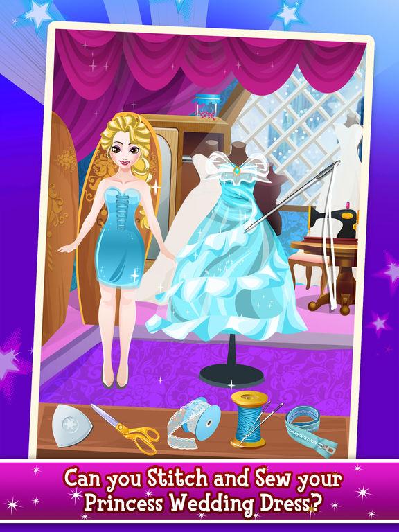 Princess Wedding Tailor Salon - fashion makeover dress up & makeup ...