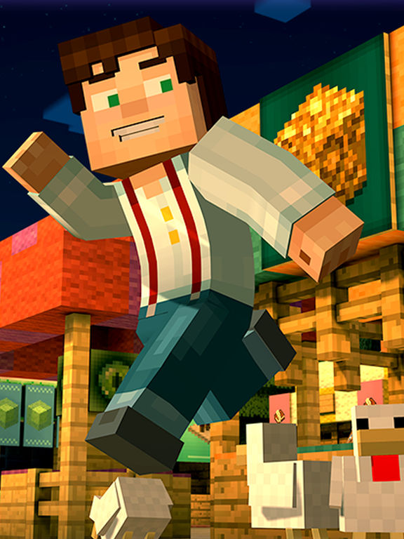 Screenshots of Minecraft: Story Mode for iPad