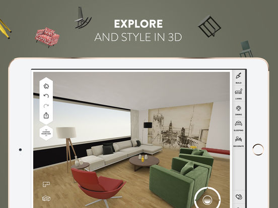 Amikasa - 3D Floor Planner with Augmented Reality screenshot