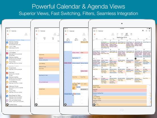 My.Agenda - Calendar, Lists, Tasks, and Reminders Screenshots
