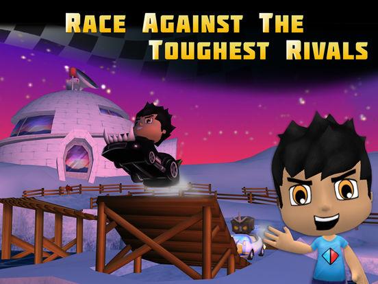 Tube Heroes Racers на iPad