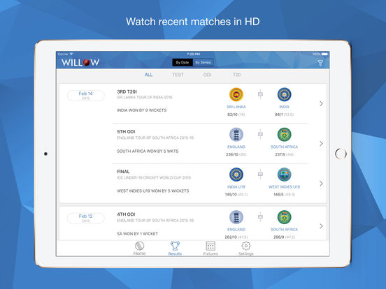Willow TV iPad Screenshot 3