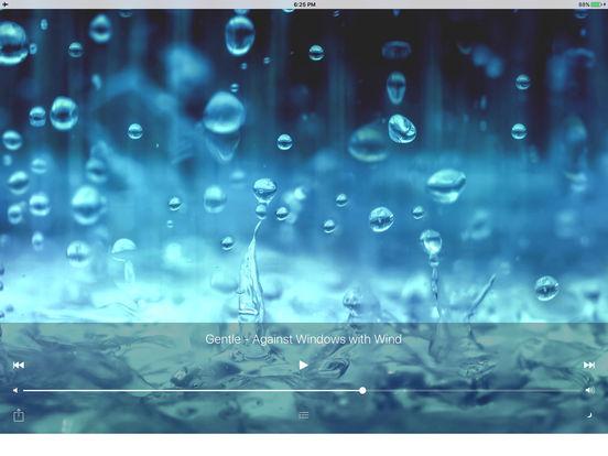 Sleepmaker Rain Free iPad Screenshot 1