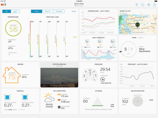 WunderStation – Weather from your neighborhood screenshot 2