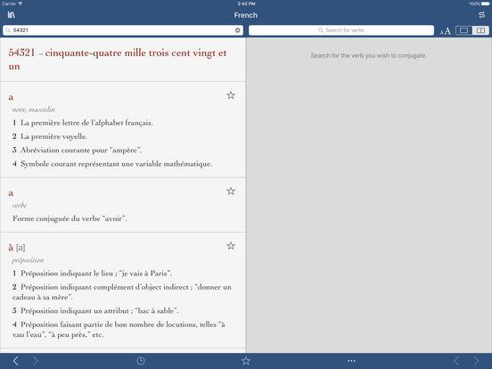 French Dictionary & Thesaurus by Ultralingua iPad Screenshot 3
