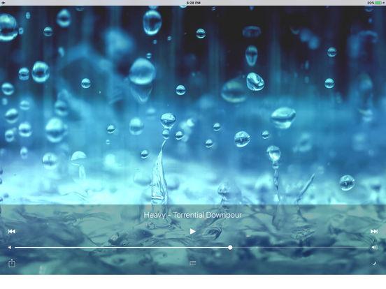 Sleepmaker Rain Free iPad Screenshot 2