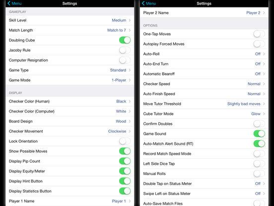 Backgammon NJ HD iPad Screenshot 5