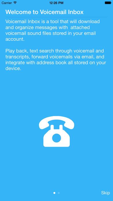 VoiceMail Inbox iPhone Screenshot 4