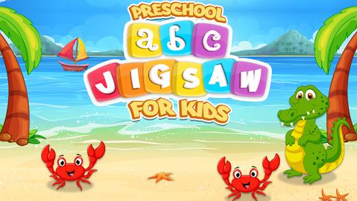 Preschool ABC Jigsaw For Kids