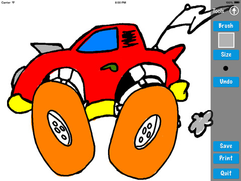 Cars Coloring