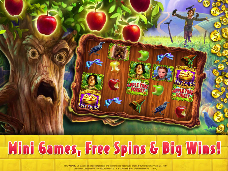 how to play wizard of oz slots