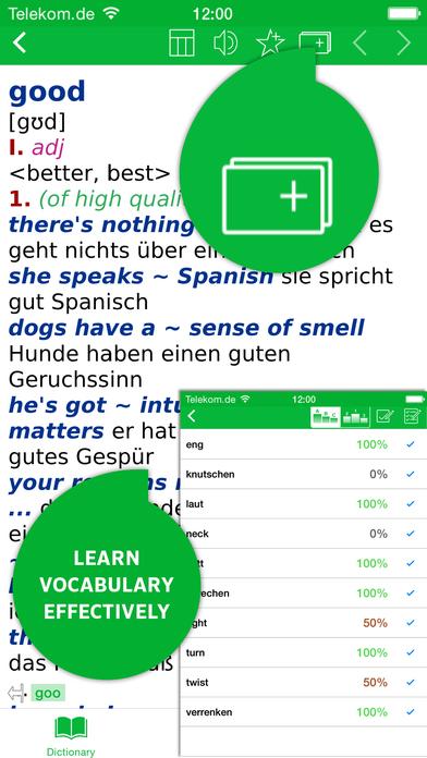 PONS Business German <-> English Dictionary iPhone Screenshot 5