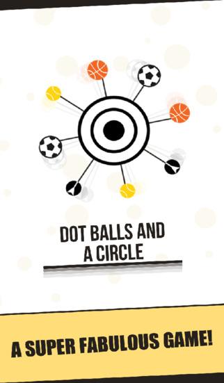 Dot Balls A Circle