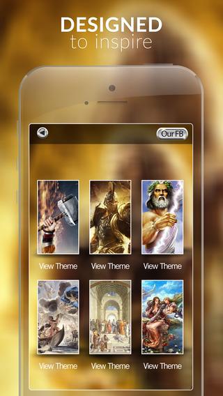 Greek Gods Gallery and mythology Legends HD Pro