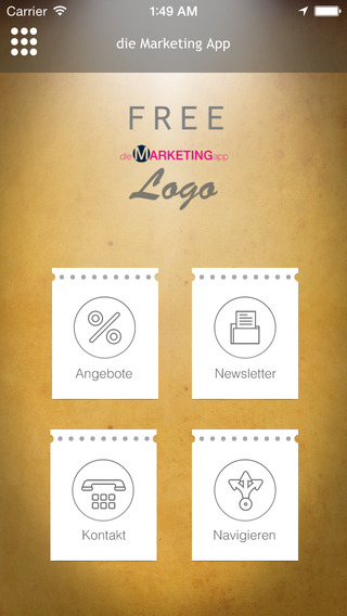 Free Die Marketing App