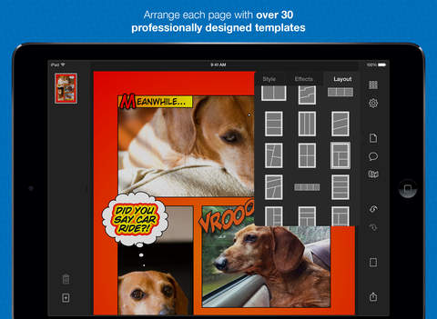 Halftone 2 - Comic Book Creator screenshot