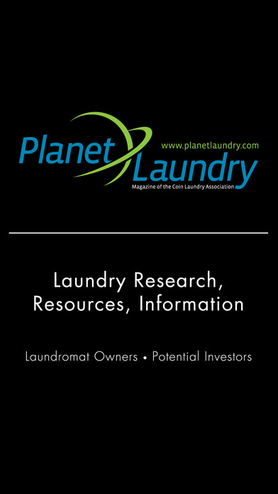 PlanetLaundry HD: Powered by the Coin Laundry Association iPhone Screenshot 1
