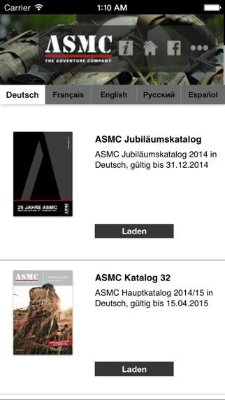 ASMC Catalog
