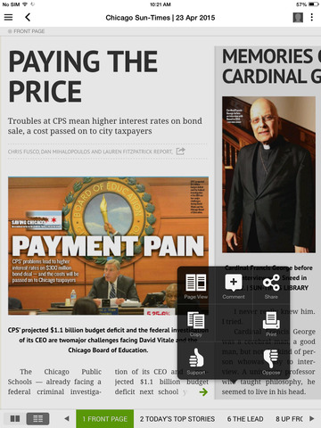 Read today's Chicago Sun-Times newspaper anytime, anywhere with the Chicago Sun-Times Today's Paper app. Never miss a day of breaking news and sports from /5(58).