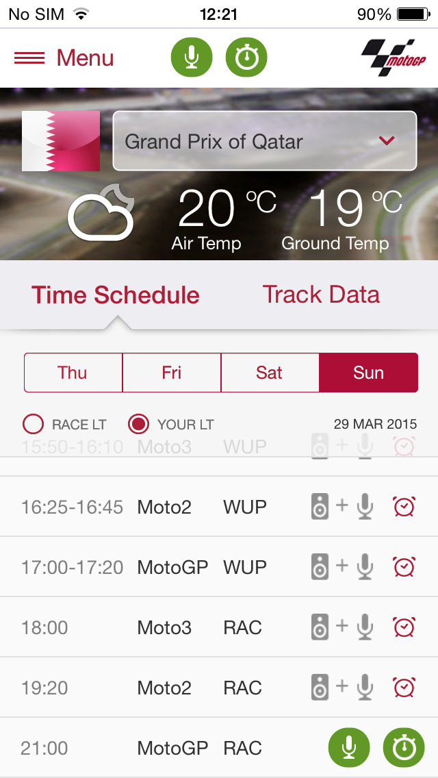 MotoGP Live Experience 2015 - Free Download (Ver:1.1.7) for iOS - AppSoDo.com