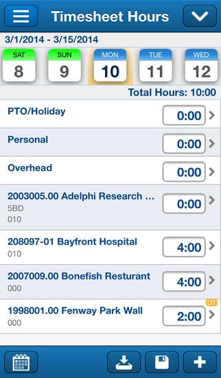 Deltek Touch Time Expense for Vision