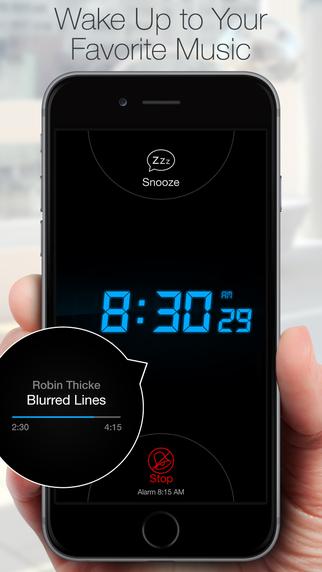 Alarm Clock Free for iOS 8 - Best Alarm Clocks with Wake Up Music