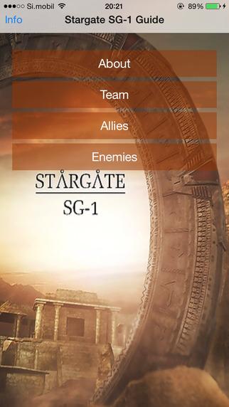 Guide For Stargate SG-1