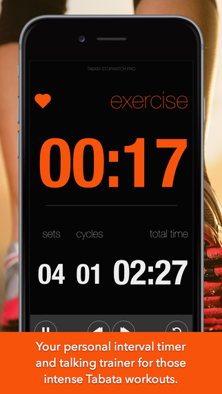 Tabata Stopwatch Pro - Interval Timer