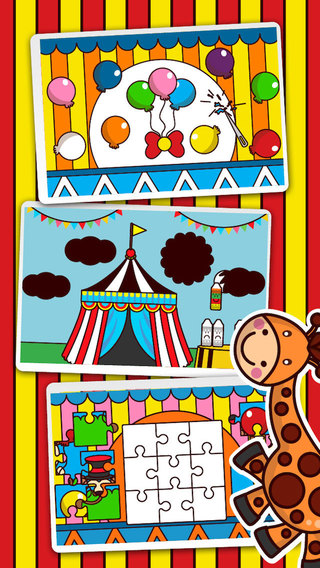 Funny Circus - Free Kids Educational Game