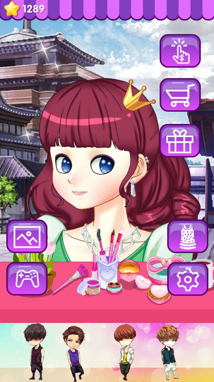 女神烟熏妆 - 公主女生化妆换装养成,儿童教育小游戏