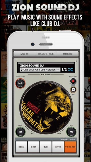 Zion Sound Dj -Music Player With Sampler Playlists-