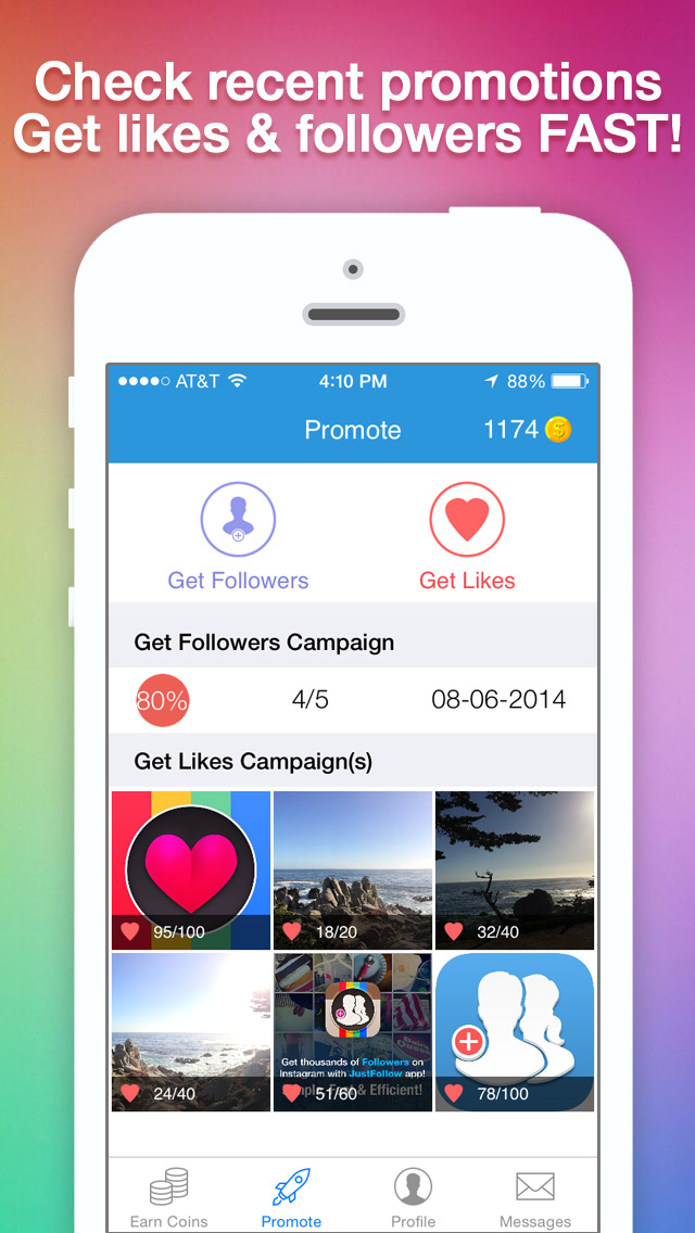 100 Instagram Followers + Likes - Get Mass Followers